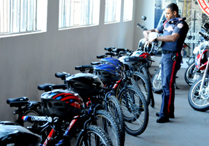 Guarda Municipal começa patrulhamento com bicicletas