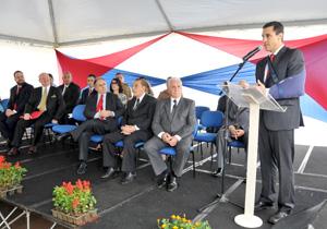 Solenidade realizada hoje marcou entrega  de medalha para Ascêncio Garcia Lopes; Cristovam Buarque; George Eddington MacClane Filho e Marco Antonio Laffranchi